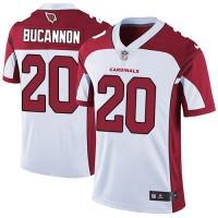 Nike Arizona Cardinals #20 Deone Bucannon White Men's Stitched NFL Vapor Untouchable Limited Jersey