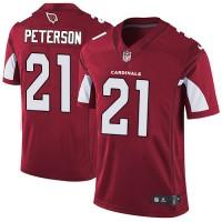 Nike Arizona Cardinals #21 Patrick Peterson Red Team Color Men's Stitched NFL Vapor Untouchable Limited Jersey