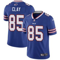 Nike Buffalo Bills #85 Charles Clay Royal Blue Team Color Men's Stitched NFL Vapor Untouchable Limited Jersey