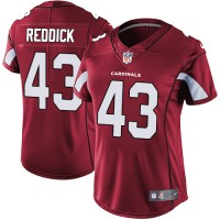 Women's Nike Arizona Cardinals #43 Haason Reddick Red Team Color Stitched NFL Vapor Untouchable Limited Jersey