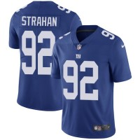 Youth Nike New York Giants #92 Michael Strahan Royal Blue Team Color Stitched NFL Vapor Untouchable Limited Jersey
