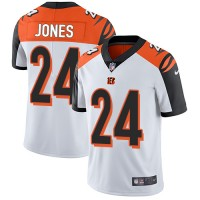 Nike Cincinnati Bengals #24 Adam Jones White Men's Stitched NFL Vapor Untouchable Limited Jersey
