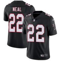 Nike Atlanta Falcons #22 Keanu Neal Black Alternate Men's Stitched NFL Vapor Untouchable Limited Jersey