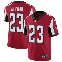 Nike Atlanta Falcons #23 Robert Alford Red Team Color Men's Stitched NFL Vapor Untouchable Limited Jersey