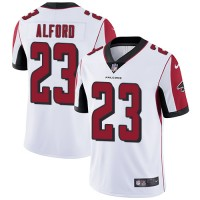 Nike Atlanta Falcons #23 Robert Alford White Men's Stitched NFL Vapor Untouchable Limited Jersey
