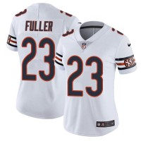 Women's Nike Chicago Bears #23 Kyle Fuller White Stitched NFL Vapor Untouchable Limited Jersey