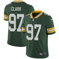Nike Green Bay Packers #97 Kenny Clark Green Team Color Men's Stitched NFL Vapor Untouchable Limited Jersey