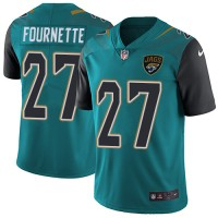 Nike Jacksonville Jaguars #27 Leonard Fournette Teal Green Team Color Men's Stitched NFL Vapor Untouchable Limited Jersey