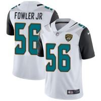 Nike Jacksonville Jaguars #56 Dante Fowler Jr White Men's Stitched NFL Vapor Untouchable Limited Jersey