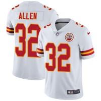 Nike Kansas City Chiefs #32 Marcus Allen White Men's Stitched NFL Vapor Untouchable Limited Jersey