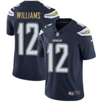 Nike Los Angeles Chargers #12 Mike Williams Navy Blue Team Color Men's Stitched NFL Vapor Untouchable Limited Jersey