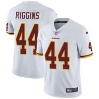 Nike Washington Redskins #44 John Riggins White Men's Stitched NFL Vapor Untouchable Limited Jersey