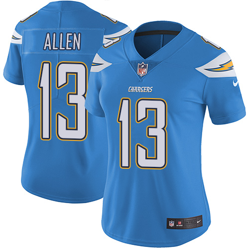 998c84f5685 Women s Los Angeles Chargers  13 Keenan Allen Electric Blue Alternate  Stitched NFL Vapor Untouchable Limited Jersey