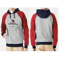 Arizona Cardinals Critical Victory Pullover Hoodie Grey Red