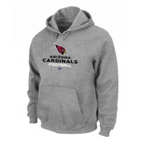 Arizona Cardinals Critical Victory Pullover Hoodie Grey