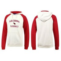 Arizona Cardinals Heart & Soul Pullover Hoodie White & Red