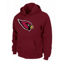 Arizona Cardinals Logo Pullover Hoodie Red