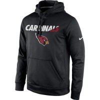 Arizona Cardinals Nike Kick Off Staff Performance Pullover Hoodie Black