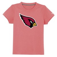 Arizona Cardinals Sideline Legend Authentic Logo Youth T-Shirt Pink