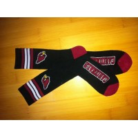 Arizona Cardinals Team Logo Black NFL Socks