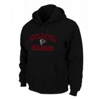 Atlanta Falcons Heart & Soul Pullover Hoodie Black