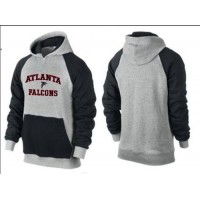Atlanta Falcons Heart & Soul Pullover Hoodie Grey & Black