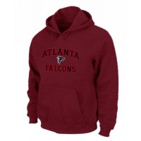 Atlanta Falcons Heart & Soul Pullover Hoodie Red
