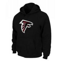 Atlanta Falcons Logo Pullover Hoodie Black