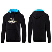 Baltimore Ravens Critical Victory Pullover Hoodie Black & Blue