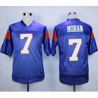 Blue Mountain State #7 Alex Moran Blue Stitched Football Jersey