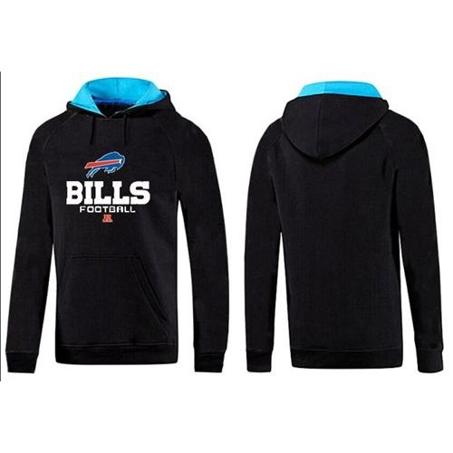 Nice Buffalo Bills Critical Victory Pullover Hoodie Black & Blue  free shipping
