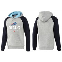 Buffalo Bills Critical Victory Pullover Hoodie Grey & Black
