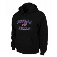 Buffalo Bills Heart & Soul Pullover Hoodie Black