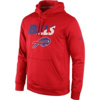 Buffalo Bills Nike Kick Off Staff Performance Pullover Hoodie Red