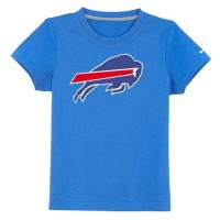 Buffalo Bills Sideline Legend Authentic Logo Youth T-Shirt Light Blue
