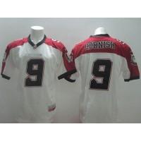 Calgary Stampeders #9 Jon Cornish White Stitched CFL Jersey