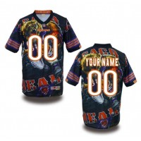 Chicago Bears NFL Customized Fanatic Version Jersey