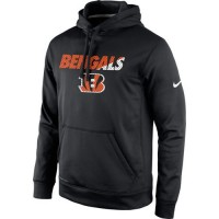 Cincinnati Bengals Nike Kick Off Staff Performance Pullover Hoodie Black
