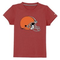 Cleveland Browns Sideline Legend Authentic Logo Youth T-Shirt Red