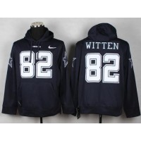 Dallas Cowboys #82 Jason Witten Navy Blue Pullover NFL Hoodie