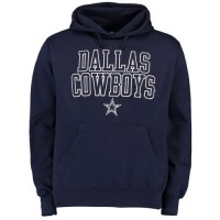 Dallas Cowboys Bendire Pullover Hoodie Navy