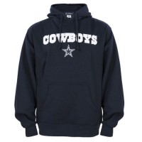 Dallas Cowboys Crowell Pullover Hoodie Navy