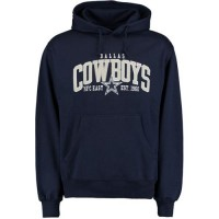 Dallas Cowboys Kestrel Pullover Hoodie Navy