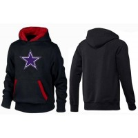 Dallas Cowboys Logo Pullover Hoodie Black & Red