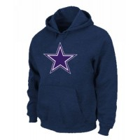 Dallas Cowboys Logo Pullover Hoodie Dark Blue