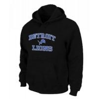 Detroit Lions Heart & Soul Pullover Hoodie Black