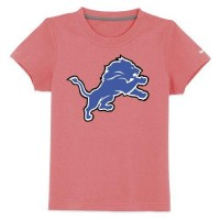 Detroit Lions Sideline Legend Authentic Logo Youth T-Shirt Pink