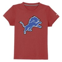 Detroit Lions Sideline Legend Authentic Logo Youth T-Shirt Red