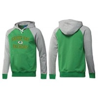 Green Bay Packers Heart & Soul Pullover Hoodie Green & Grey
