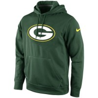 Green Bay Packers Nike KO Logo Essential Hoodie Green